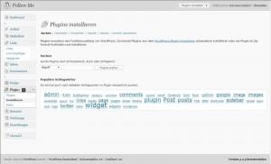 Plug-ins bei WordPress installieren