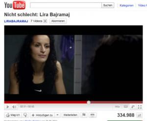 Nike Spot mit Lira Bajramaj