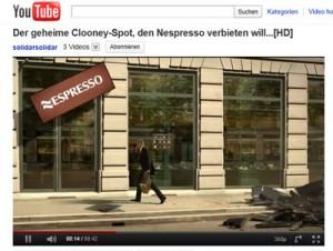 Nesspresso Fake Spot George Clooney