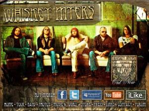 Die Homepage von Whiskey Myers
