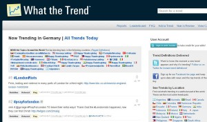 Hashtags: Trends auf Twitter