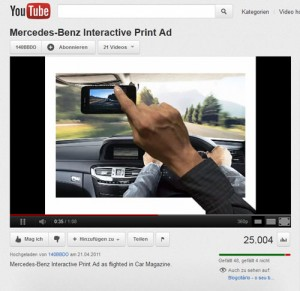 Augmented Reality und Mercedes Benz