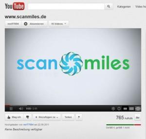 Punkte sammeln mit Scanmiles