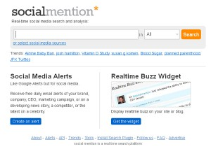 Social Mention - das Social Media Monitoring Tool