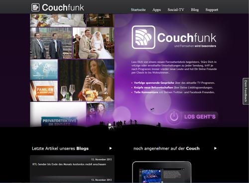 Couchfunk, Social-TV-App